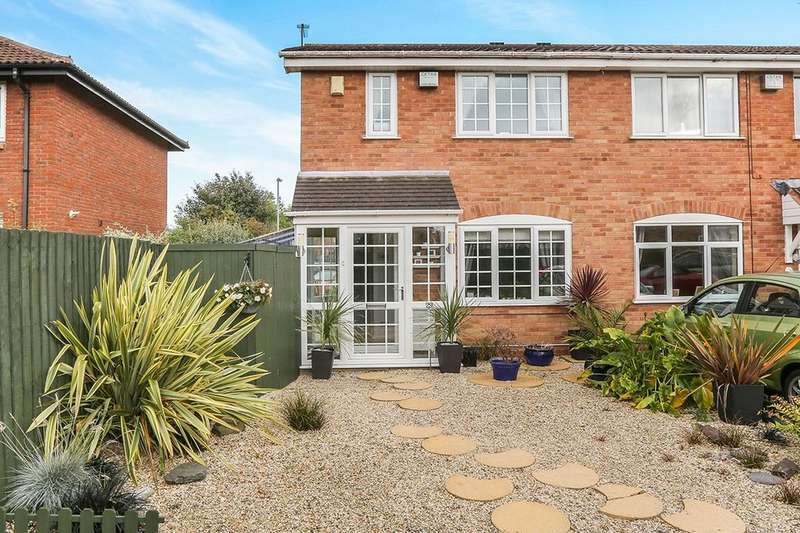 3 Bedrooms Semi Detached House for sale in Mallory Road, Perton, Wolverhampton, WV6