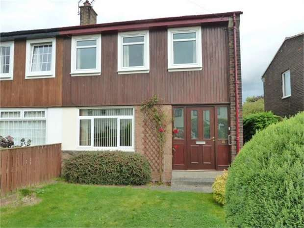 3 Bedrooms Semi Detached House for sale in Burnside, Belford, Northumberland