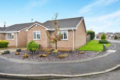 2 Bedrooms Bungalow for sale in Cardle Close, Forest Town, Mansfield, Nottinghamshire
