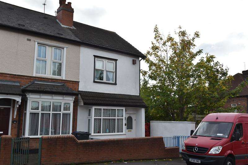 3 Bedrooms End Of Terrace House for sale in Esme Road, Sparkhill