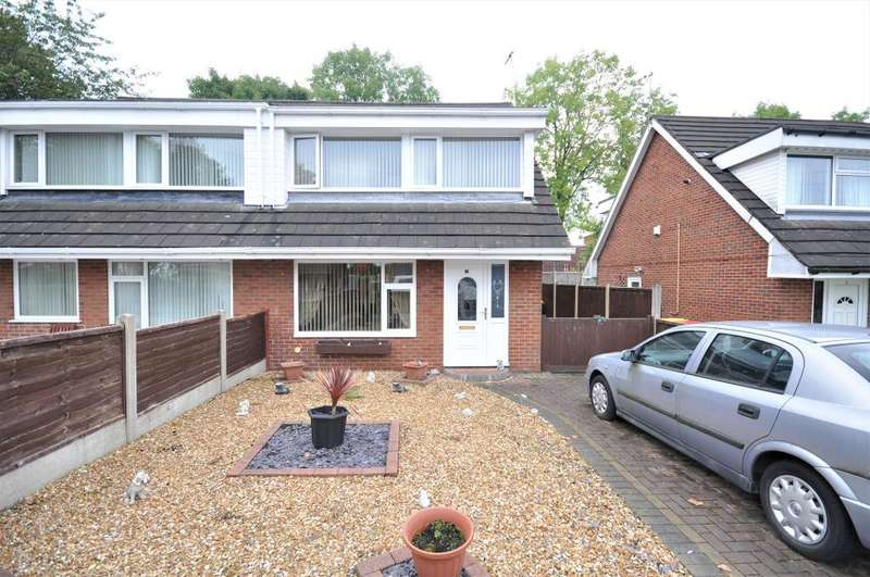 3 Bedrooms Semi Detached House for sale in Sandycroft, Ribbleton, Preston, Lancashire, PR2 6LP