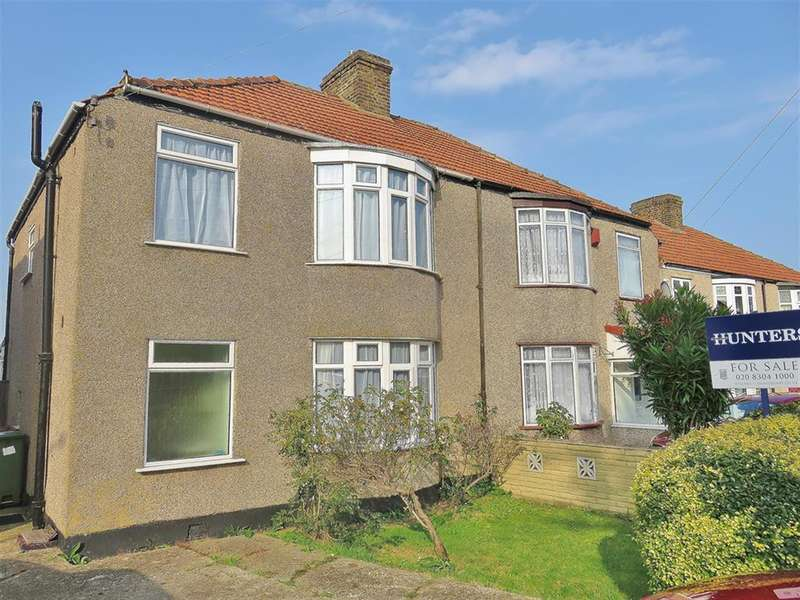 4 Bedrooms Semi Detached House for sale in Tidford Road, Welling, Kent, DA16 3JY
