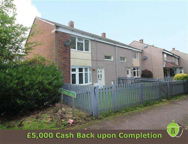 2 Bedrooms End Of Terrace House for sale in Common Walk, Huntington