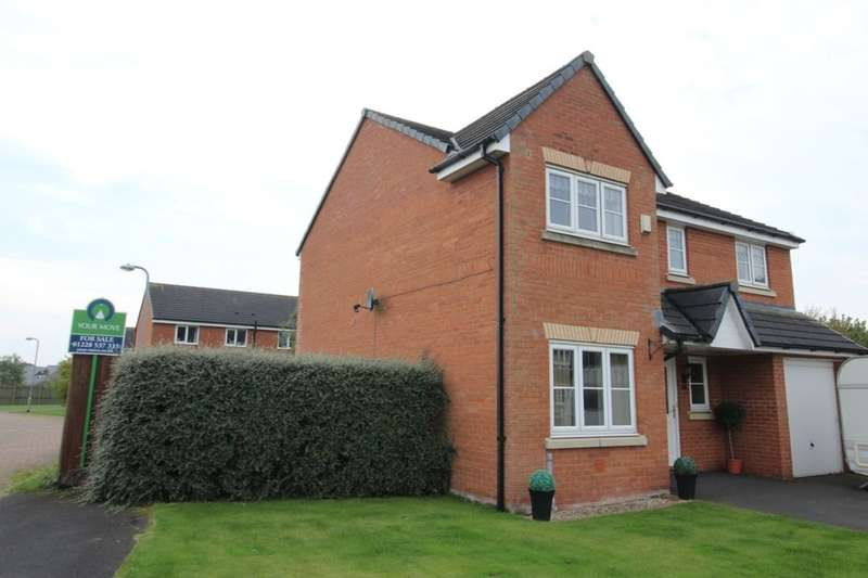 4 Bedrooms Detached House for sale in Edenside, Cargo, Carlisle, CA6