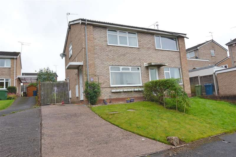 2 Bedrooms Semi Detached House for sale in Beaumont Gardens, Stafford