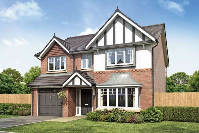 4 Bedrooms Detached House for sale in The Banbury Walton Meadows, Walton-Le-Dale, Preston, PR5