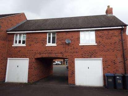 2 Bedrooms Maisonette Flat for sale in Little Mill Close, Barlestone, Nuneaton, Warwickshire