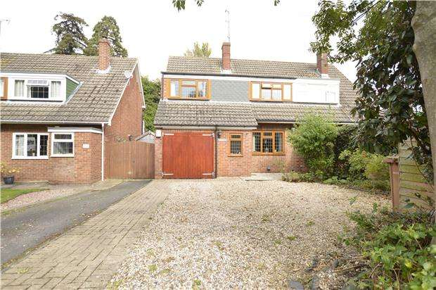 3 Bedrooms Semi Detached House for sale in Sedgley Road, Bishops Cleeve, GL52 8DD