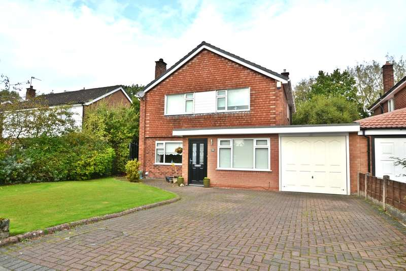 4 Bedrooms Detached House for sale in Oakdale Drive, Heald Green