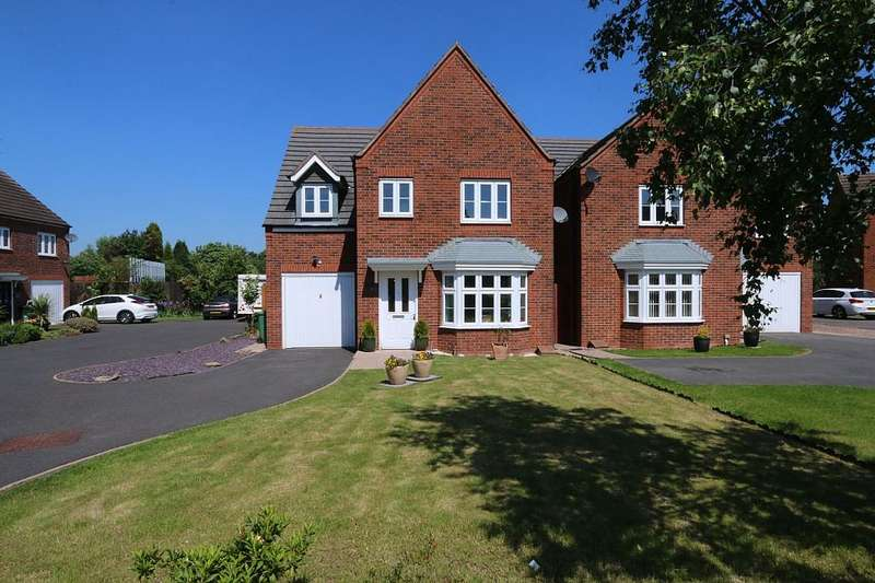 4 Bedrooms Detached House for sale in Westminster Road, Walsall, West Midlands, WS4 1NJ