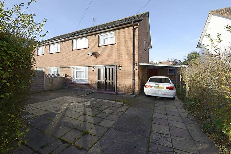 3 Bedrooms Semi Detached House for sale in Canterbury Road, Feltham, Middlesex, TW13