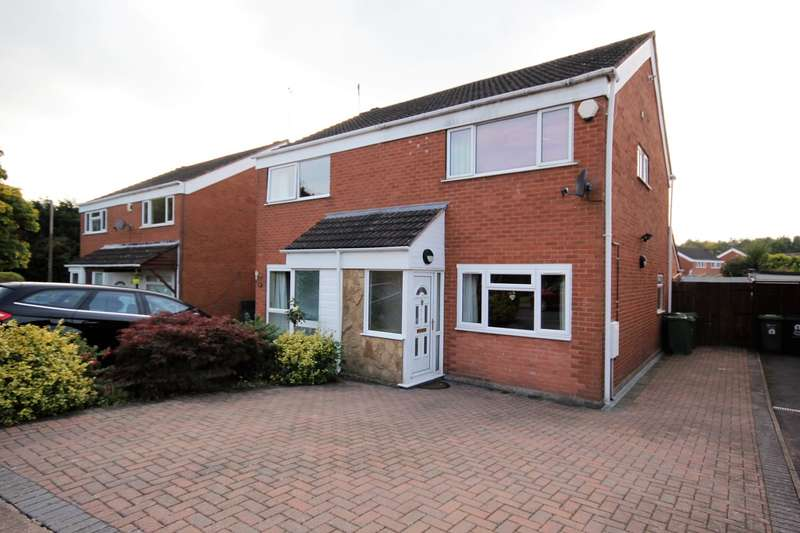 2 Bedrooms Semi Detached House for sale in Thames Close, Worcester, WR5