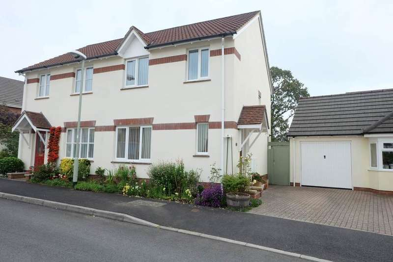 3 Bedrooms Semi Detached House for sale in Landkey, Barnstaple