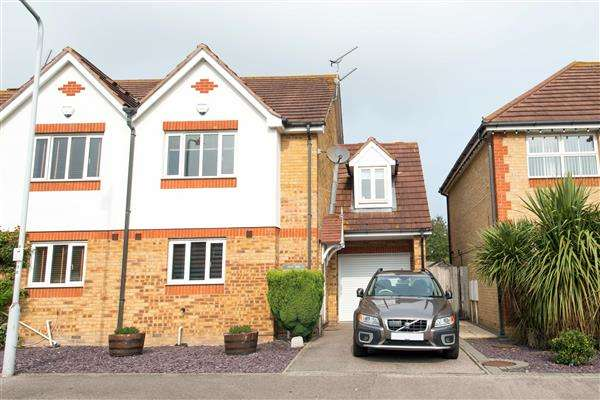 3 Bedrooms Semi Detached House for sale in Recreation Way, Kemsley, Sittingbourne