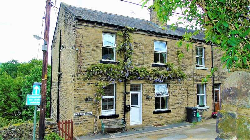 2 Bedrooms Cottage House for sale in Willow Bank Luddendenfoot Halifax