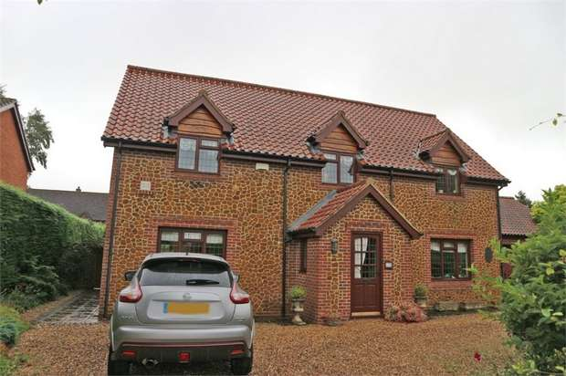 4 Bedrooms Detached House for sale in Chequers Close, Grimston, King's Lynn, Norfolk