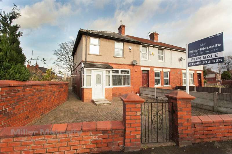 3 Bedrooms End Of Terrace House for sale in Lime Avenue, Leigh, WN7