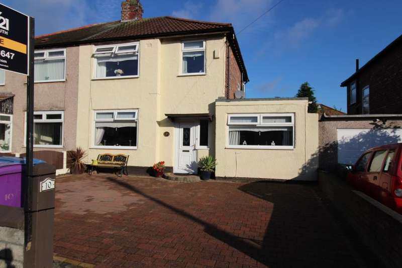 4 Bedrooms Semi Detached House for sale in Mackets Close, Woolton, L25