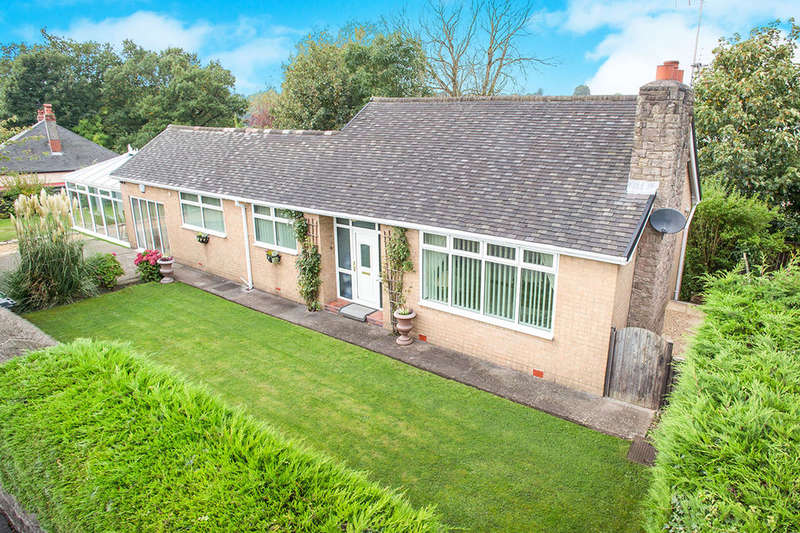 2 Bedrooms Detached Bungalow for sale in Buxton Road, Congleton, CW12