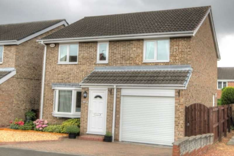 4 Bedrooms Detached House for sale in Romsey Grove, Lemington Rise, Newcastle Upon Tyne, NE15