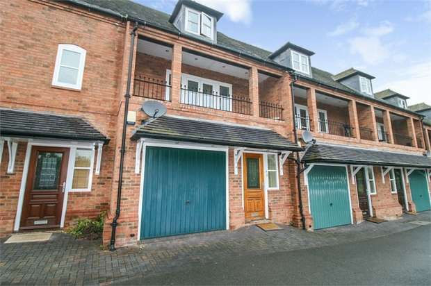 3 Bedrooms Town House for sale in Mercia Court, Repton, Derby
