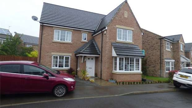 4 Bedrooms Detached House for sale in Fleming Way, Willington, Crook, Durham