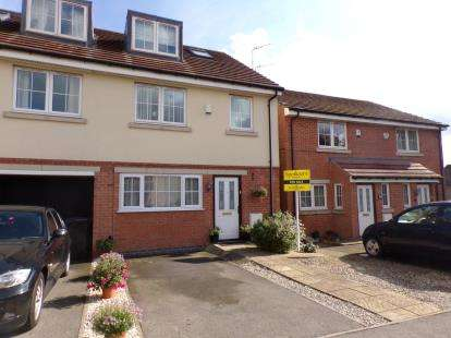 3 Bedrooms Terraced House for sale in Woodleigh Close, Leicester, Leicestershire, England