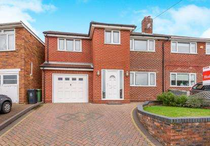 5 Bedrooms Semi Detached House for sale in Fordbrook Lane, Pelsall, Walsall