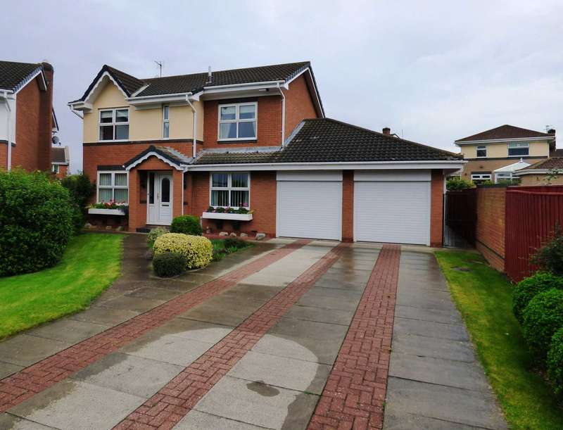 4 Bedrooms Detached House for sale in Vickers Close, Marske By The Sea
