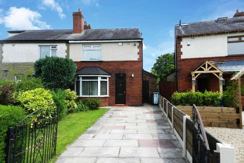 3 Bedrooms Semi Detached House for sale in Hurst Mill Lane, Glazebury, warrington, WA3 5NR