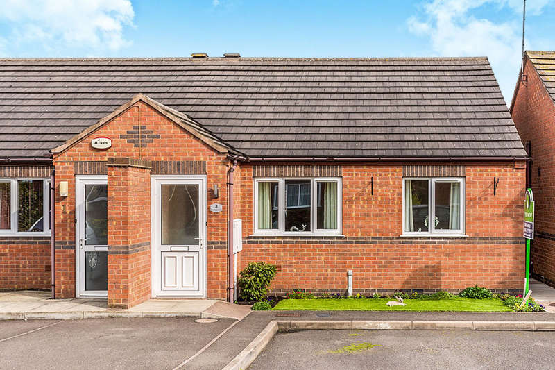 2 Bedrooms Semi Detached Bungalow for sale in Bramblewood, Newhall, Swadlincote, DE11