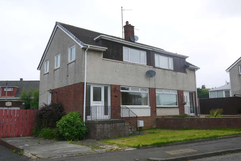 3 Bedrooms Semi Detached House for sale in Chestnut Road, Ayr, KA7