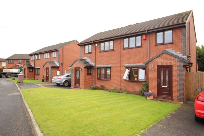 2 Bedrooms Semi Detached House for sale in Carrwood Close, Haydock, St. Helens, WA11