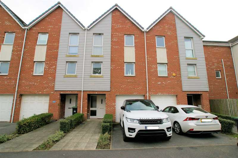 4 Bedrooms Town House for sale in Lock Keepers Way, Stoke on Trent