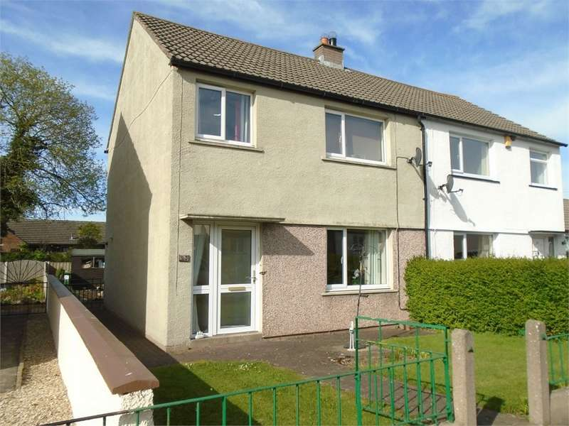 3 Bedrooms Semi Detached House for sale in CA5 6PS Shawk Crescent, Thursby, Carlisle, Cumbria