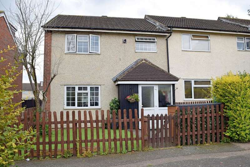 3 Bedrooms End Of Terrace House for sale in Church End, Harlow, CM19 5PH