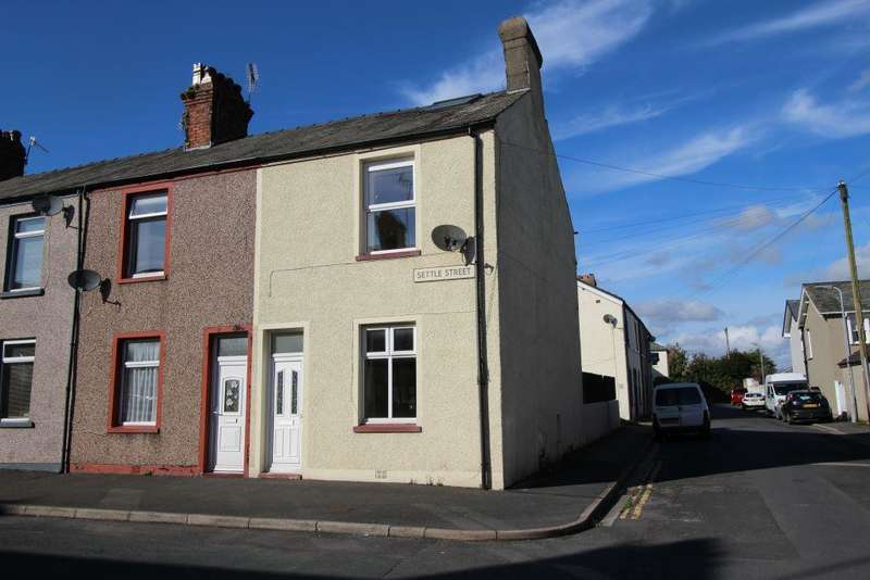 2 Bedrooms End Of Terrace House for sale in Settle Street, MILLOM