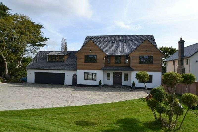 5 Bedrooms Detached House for sale in HULHAM ROAD, EXMOUTH, DEVON