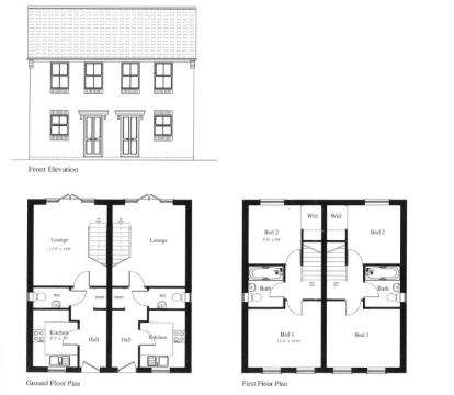 2 Bedrooms Semi Detached House for sale in The Old Milk Dairy, Festus Street, Kirkby In Ashfield, Nottingham
