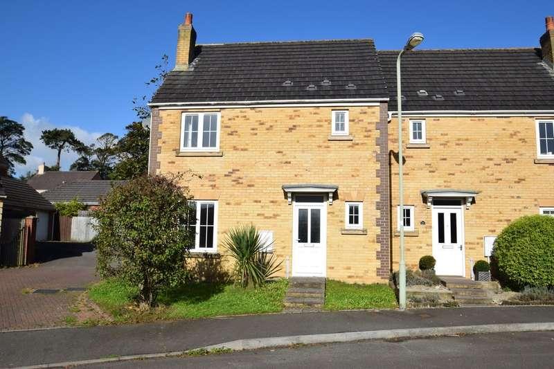 3 Bedrooms Semi Detached House for sale in 24 Parc Bronhaul, Broadlands, Bridgend, Bridgend County Borough, CF31 5EP