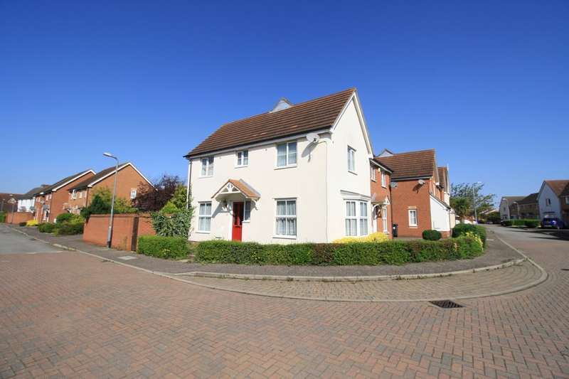 3 Bedrooms Semi Detached House for sale in Hill House Drive, Chadwell St. Mary