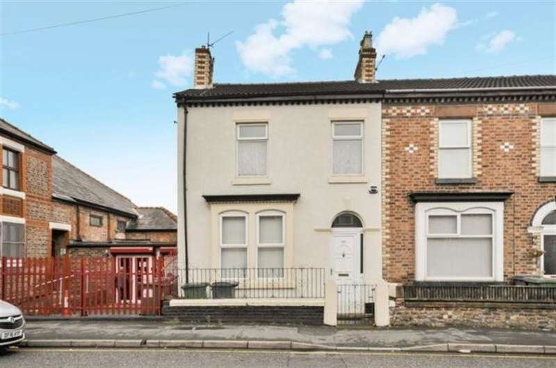 3 Bedrooms End Of Terrace House for sale in Old Chester Road, Birkenhead, CH42 3TB