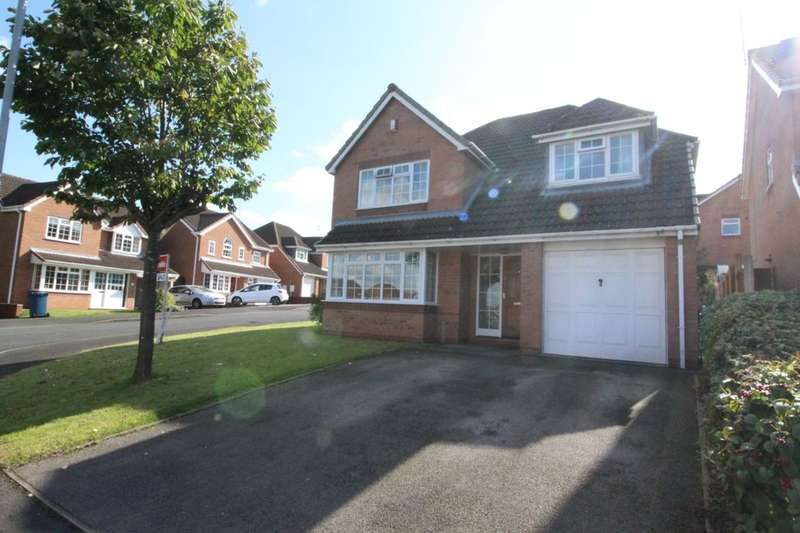 4 Bedrooms Detached House for sale in Lara Close, Stafford, ST16