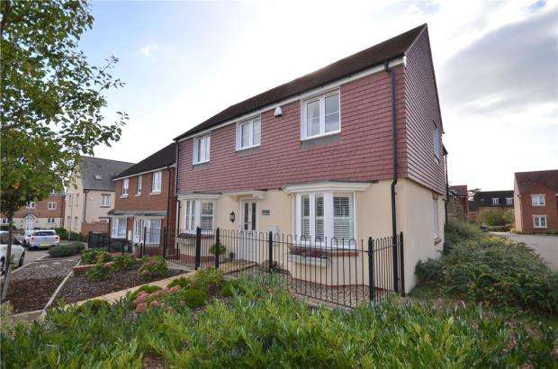4 Bedrooms Detached House for sale in Spoonbill Rise, Bracknell, Berkshire