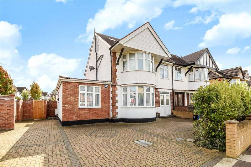 2 Bedrooms Apartment Flat for sale in Woodberry Avenue, Harrow, Middlesex, HA2