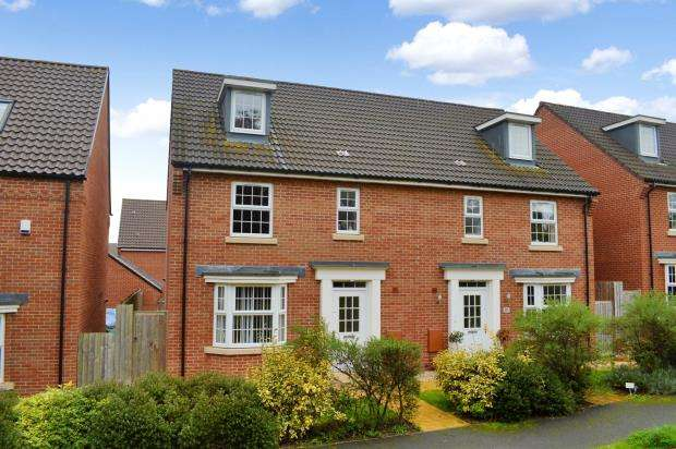 4 Bedrooms Semi Detached House for sale in Collett Road, Norton Fitzwarren, Taunton, Somerset