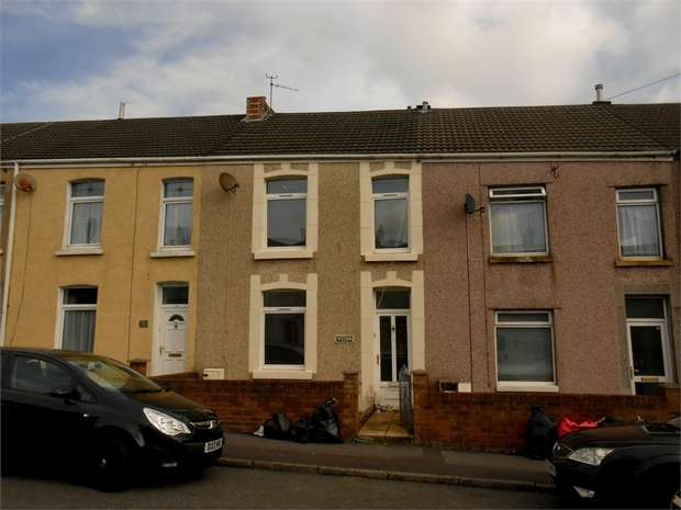 4 Bedrooms Terraced House for sale in Middle Road, Gendros, Swansea, West Glamorgan