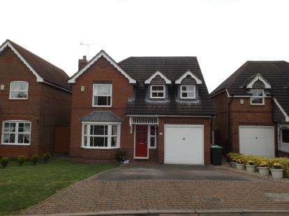 4 Bedrooms Detached House for sale in Hill Top View, Sutton-In-Ashfield, Nottinghamshire, Notts