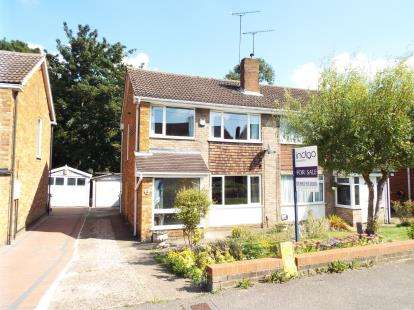 3 Bedrooms Semi Detached House for sale in Sunningdale, Luton, Bedfordshire