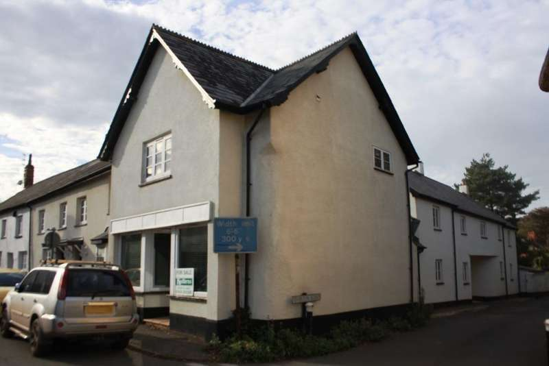 2 Bedrooms End Of Terrace House for sale in Silverton, Exeter